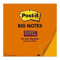 3M Post-It Note Big Orange 279mm x 279mm