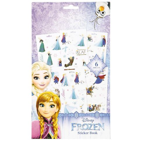 Frozen 6 Page Sticker Book