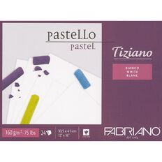 Fabriano Tiziano Pastel Art Pad 160GSM White 12in x 16in