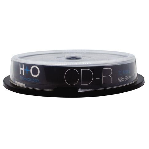 H+O Cd-R 52X 700 Mb 10-Pack