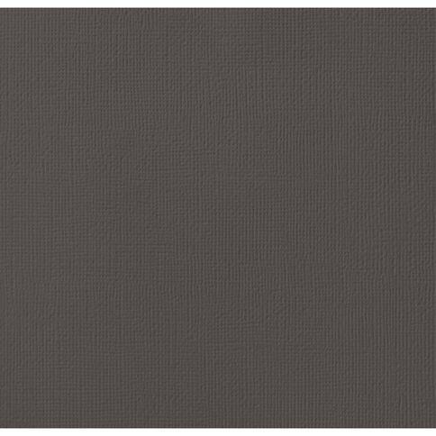 American Crafts Cardstock Textured 12 x 12 Black