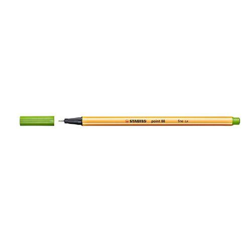 Stabilo Point 88 Fineliner 0.4mm Leaf Green