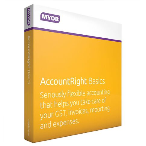 Myob Accountright Live Basics
