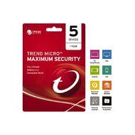 Trend Micro NZTMIS Maximum Security 1-5D 1Y ESD