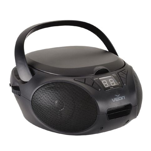 Veon CD Boombox VN1122018 Black