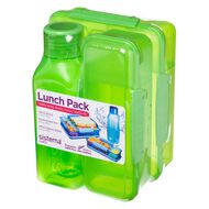 Sistema Lunch 3 Pack Asst Multi-Coloured