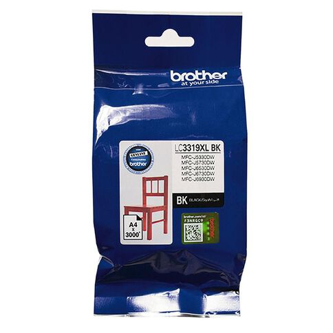 Brother Ink LC3319XL Black (3000 Pages)