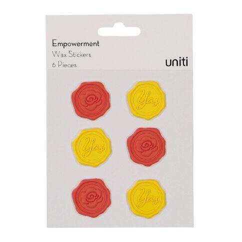 Uniti Empowerment Wax Shape Sticker