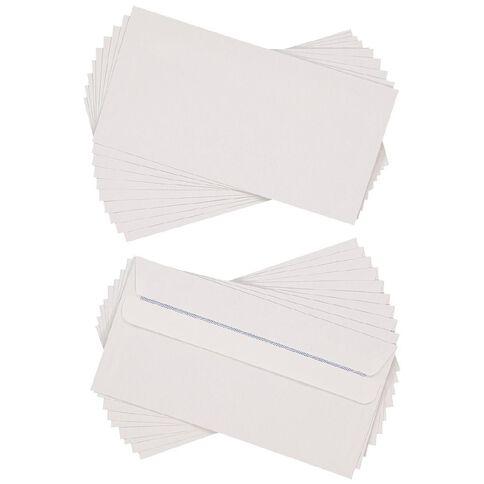 Envelope DLE Self Seal 20 Pack