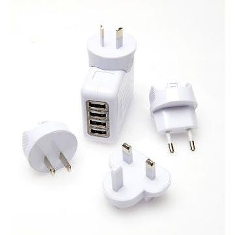 4 Port USB Power Adaptor