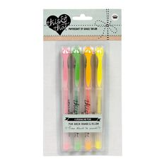 This & That Journaling Pens Neon 4 Pack