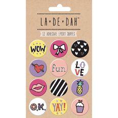 La De Dah Epoxy Badges