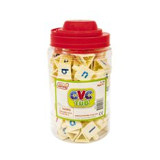 Junior Learning CVC Tri-Blocks Tub