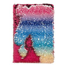Kookie Rainbow Reversible Sequin Notebook A5