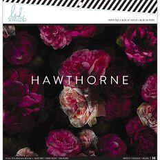 Heidi Swapp Hawthorne Paper Pad 12 inch x 12 inch 36 Sheets
