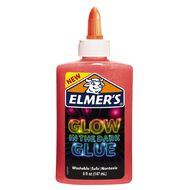 Elmer's Glow in the Dark Liquid Glue 147ml Pink
