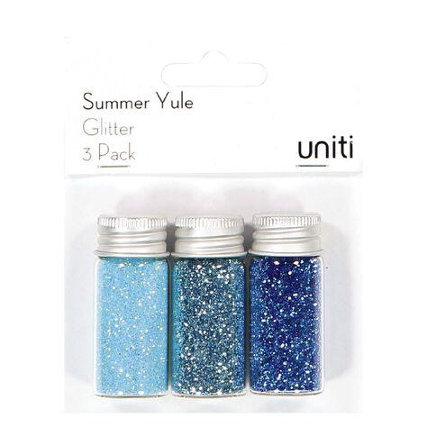Uniti Summer Yule Glitter 3 Pack
