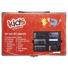 Kookie Art Set 82 Piece