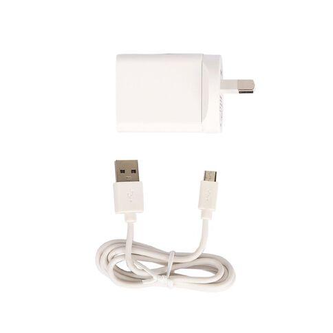 Tech.Inc Micro USB Wall Charger 2.4A White