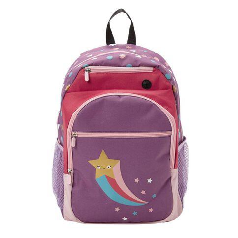 Kookie Star Backpack Purple