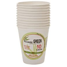 SURV. Eco Tumblers 250ml 10 Pack