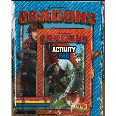 Dragons Activity Pack by Dreamworks