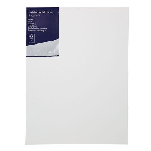 Uniti Platinum Canvas 18x24 Inches 380Gsm