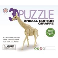 3D Animal Edition Wooden Puzzle Assorted