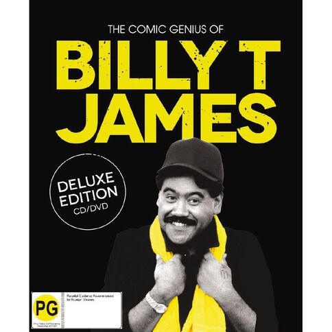 The Comic Genius Of Billy T James DLX CD/DVD by Billy T James 2Disc