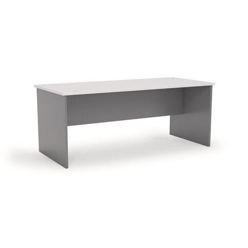 Ergoplan Desk 1800 Silver/White White/Silver