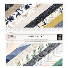 Indigo & Ivy Paper Pad 6in x 6in 36 Sheets
