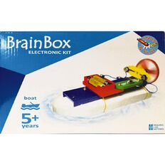Brain Box Make Your Own Boat/Car Experiments Kits