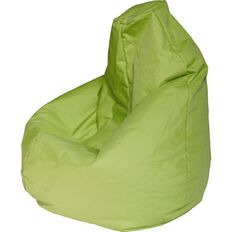Canvas Bean Bag Prefilled Lime 200L
