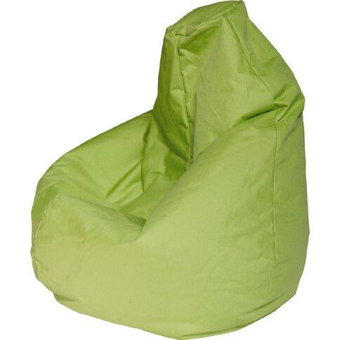 Canvas Bean Bag Prefilled Lime 200L
