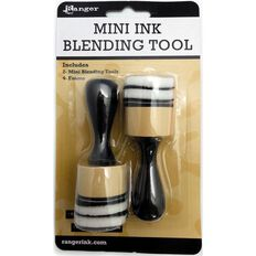 Ranger Mini Ink Blending Tool Round 2 Pack/4 Foams