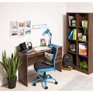 Workspace Soho 8 Cube Cubby Walnut