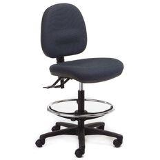 Chair Solutions Aspen Midback Tech Chair Control Blue