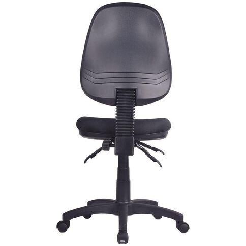 Workspace 3 Lever Highback Chair Black