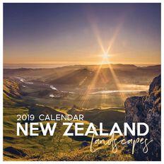Calendar 2019 NZ Landscapes 16 290mm x 290mm