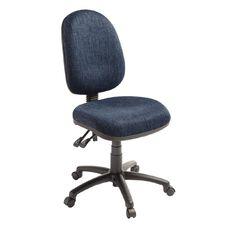 Eden Tag 3 Lever Highback Ergonomic Chair Navy