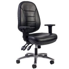 Dawell Delta Plus Chair Leather