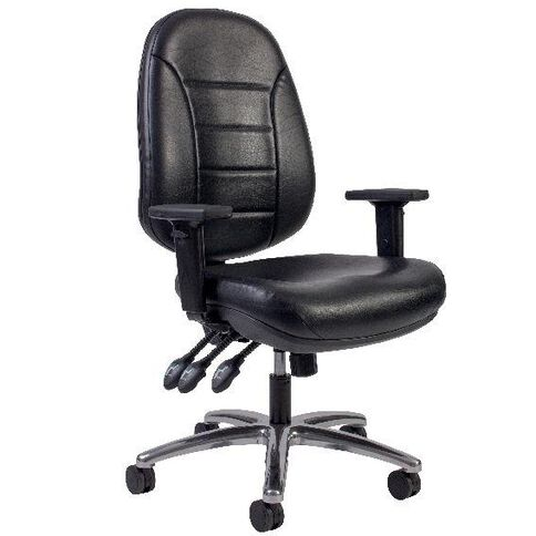 Chair Solutions Delta Plus Chair Leather Black