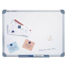Quartet Penrite Magnetic Whiteboard 450 x 600 Aluminium Frame White