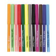 Kookie Te Reo Felt Pens Multi-Coloured 12 Pack