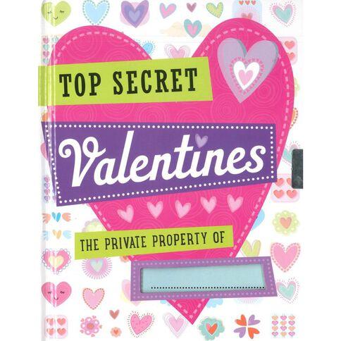 Totally Top Secret Valentine Journal