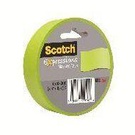 Scotch Masking Craft Tape 25mm x 18m Lemon Lime