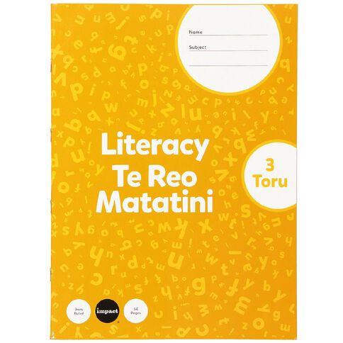 Impact Senior Literacy 3
