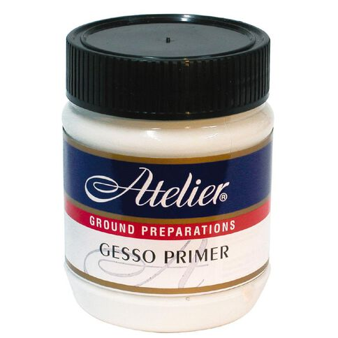 Atelier Gesso Medium Primer 250ml White