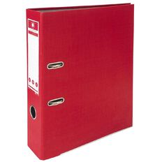 Office Supply Co Lever Arch Red A4