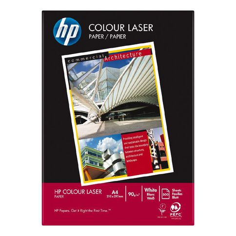 HP Colour Laser 90gsm 500 Pack White A4
